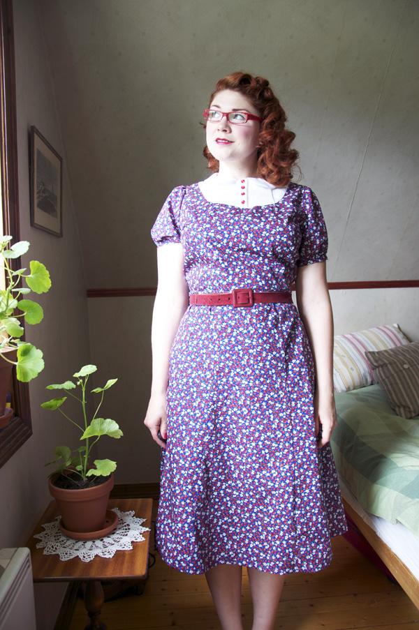 smultronklänning