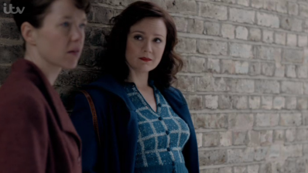 Bletchley circle s2 e1 checked cardi