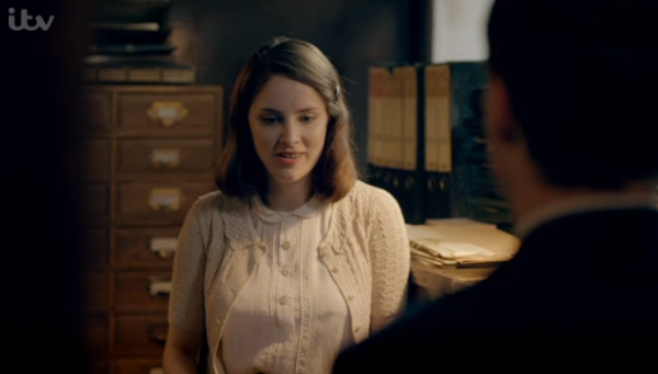 Bletchley Circle s2 ep 4 lacy cardigan
